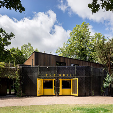Regent's Park Open Air Theatre Studio - Built Work - Eurban