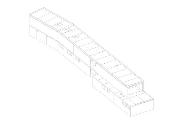 Regents Park Open Air Theatre Line Drawing -  Eurban