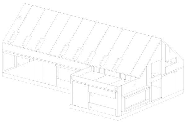 Field House Line Drawing -  Eurban