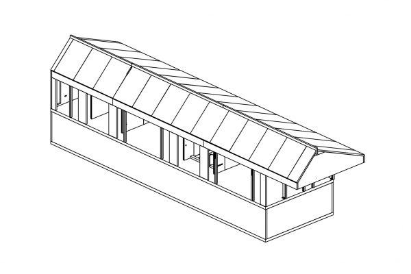 Oakwood Line Drawing -  Eurban